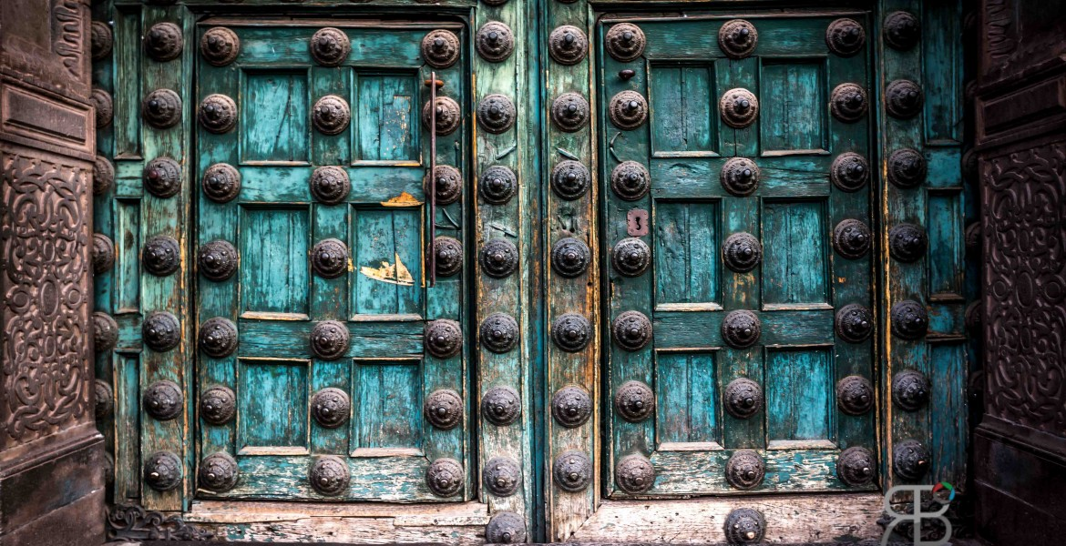 Church Door in Cuzco, Peru