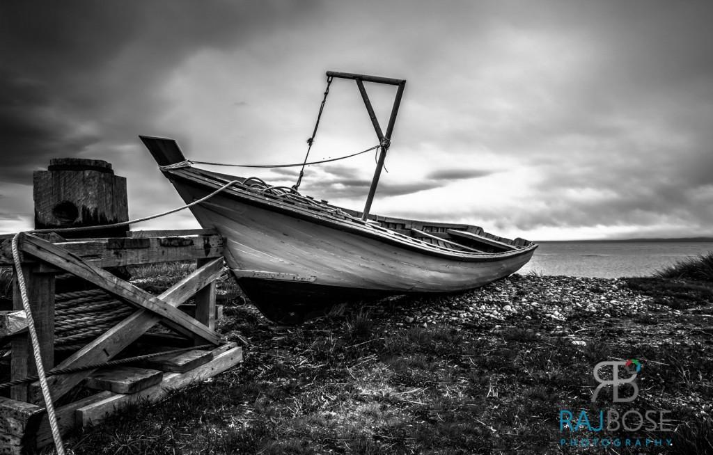 Fisherman's boat, Tierra del Fuego