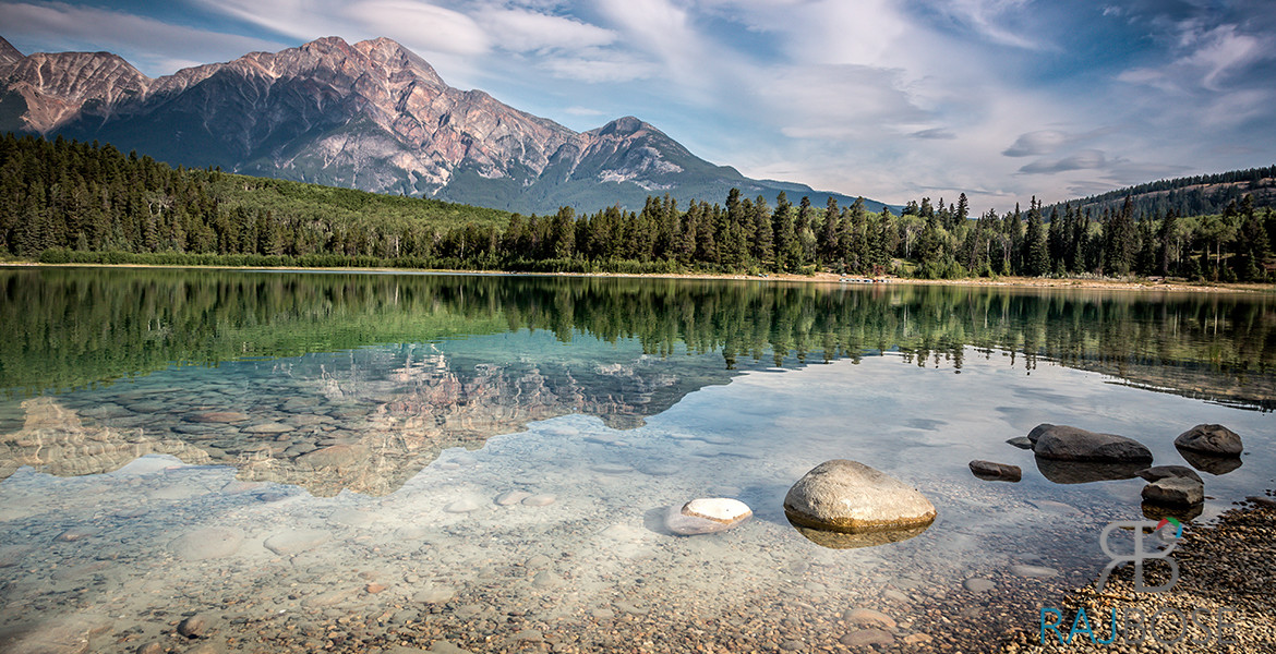 Patricia Lake in Jasper National Park, Canada
