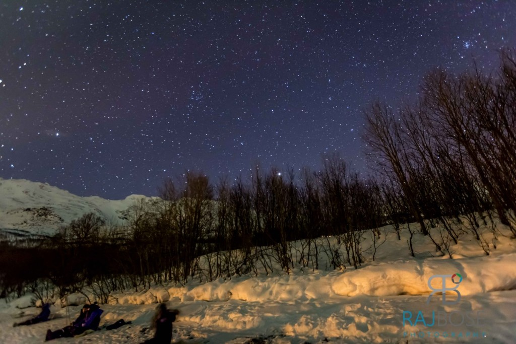 Starry Night in Tromso