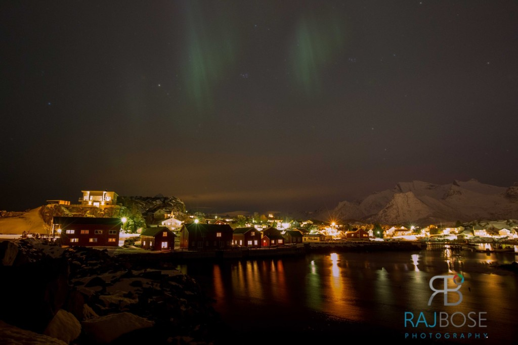 Northern Light Viewing at Kabelvag