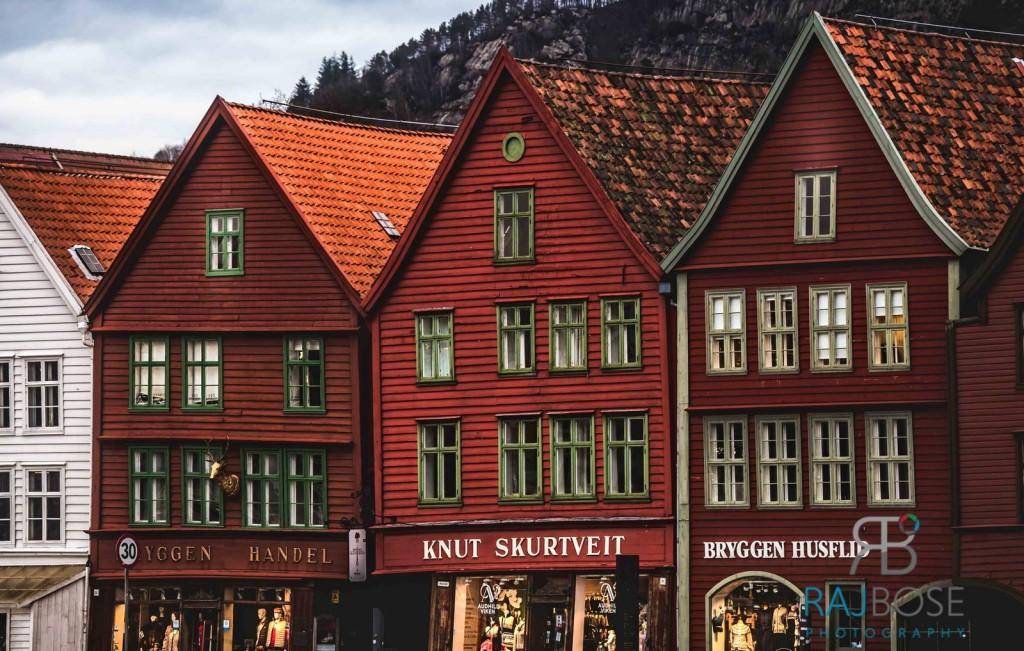 Famous Bryggen Houses
