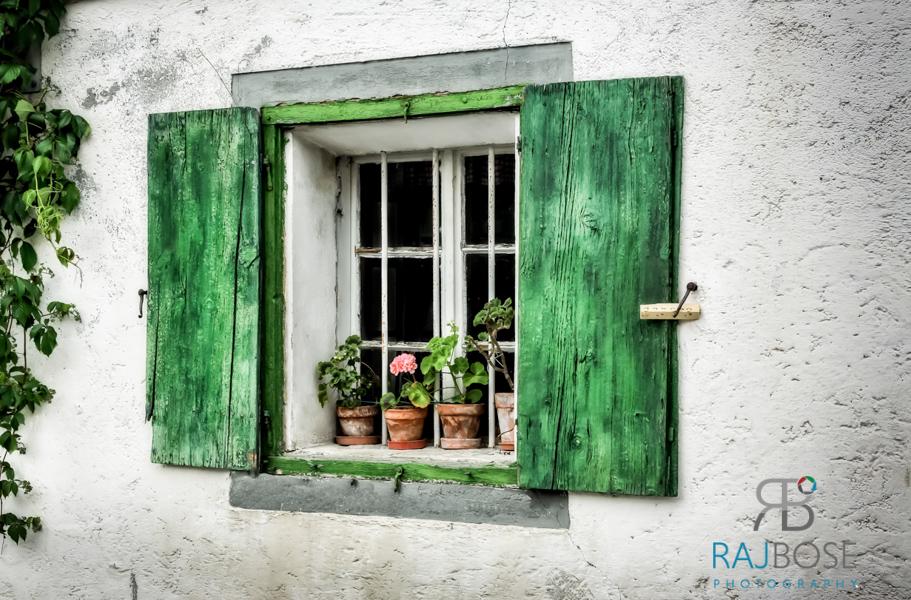 Austria Beautiful Windows